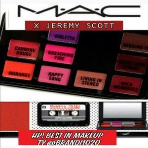 🖤MAC X Jeremy Scott Cassette Tap Lip Pallet New🖤